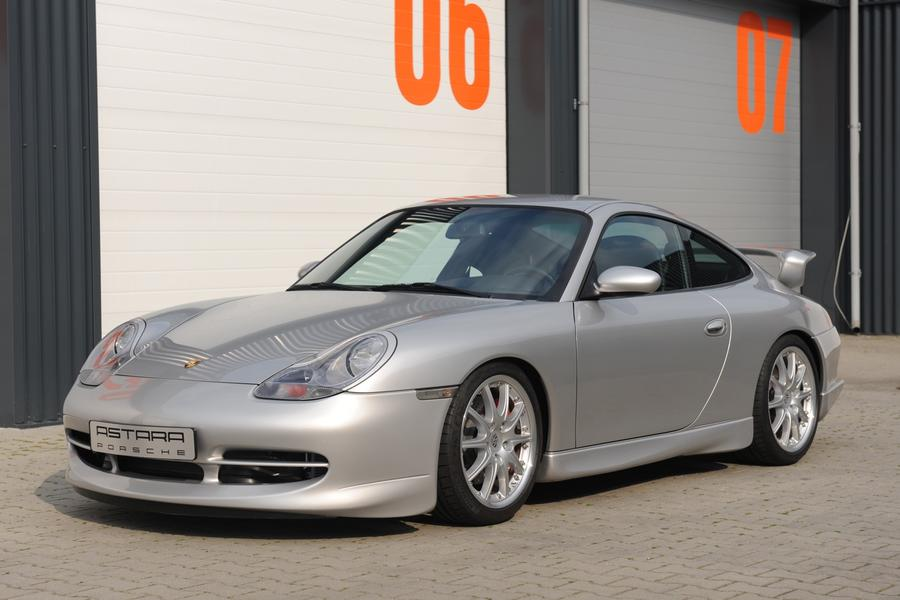 Porsche 911 996 Gt3 Mk1 2001 Highlighted Photo 1