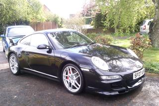 Porsche 911 997 Carrera 4S Coupé mk1, 2007 - Primary exterior photo