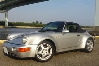 Porsche 911 964 Carrera 2 Cabriolet Turbo-look, 1993 - Primary exterior photo
