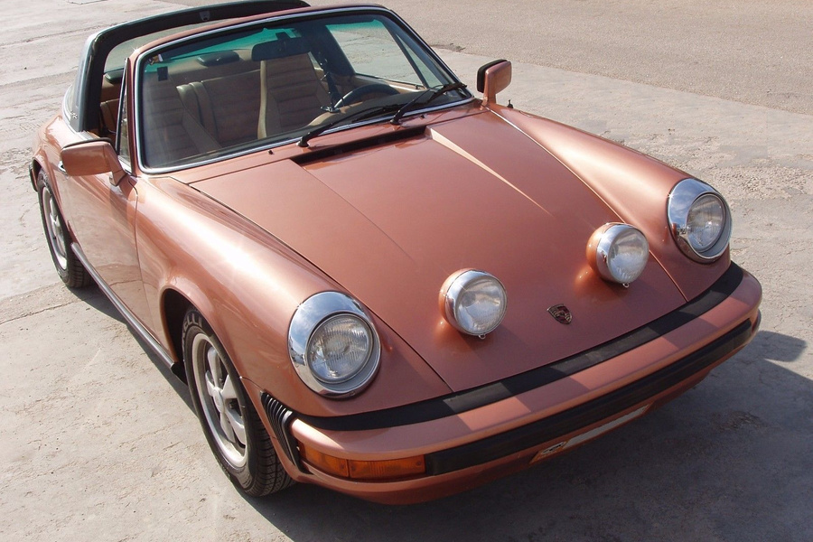Porsche 911 G-model 2.7 S Targa 121kW-version, 1977 - #1