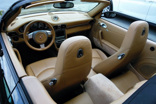 Porsche 911 997 Carrera 4S Cabriolet mk1, 2006 - Primary interior photo