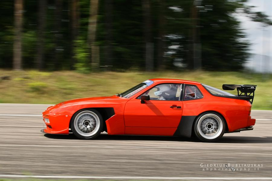 Porsche 944 Turbo S M758 1988 For Show By Audrius