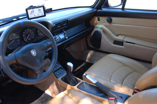 Porsche 911 993 Carrera 4S 3.6, 1996 - Primary interior photo