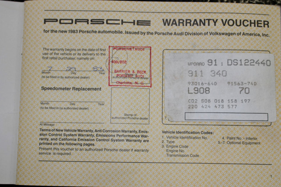 Porsche 911 G-model SC 3.0 Coupé 132kW-version, 1983 - #9
