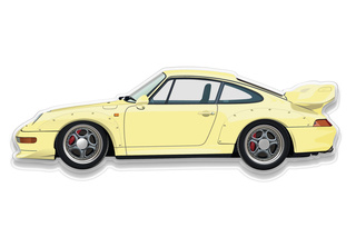 Porsche 993 GT2 Wall Model  - Primary photo