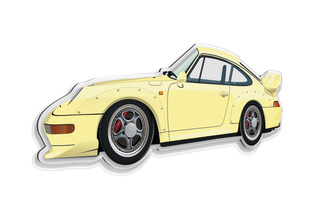 Porsche 993 GT2 Wall Model  - Secondary photo