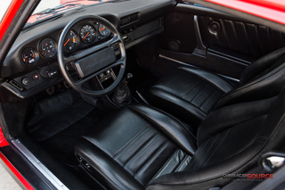 Porsche 911 G-model Carrera 3.2 Coupé Turbo-look 152kW-version, 1985 - Primary interior photo