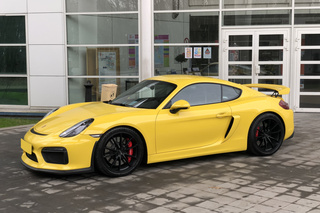 Porsche Cayman 981 GT4 Clubsport, 2015 - Primary exterior photo