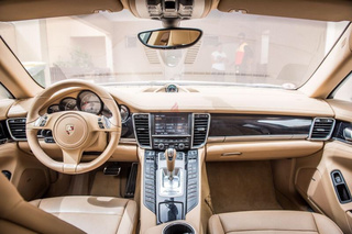 Porsche Panamera 970.1 S 4.8, 2010 - Primary interior photo