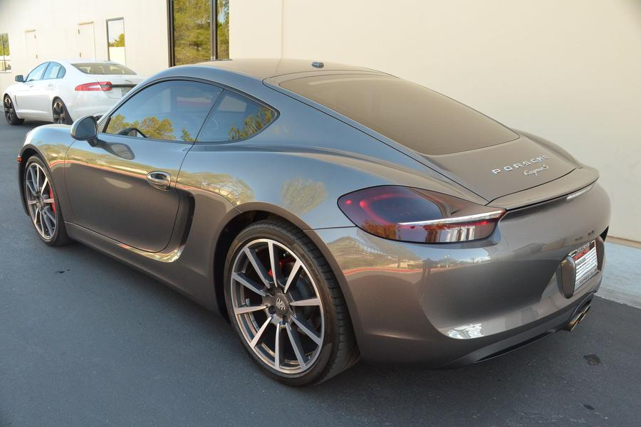 Porsche Cayman 981 S, 2014 for show by Gaudin Porsche of Las Vegas