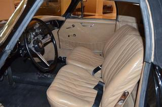 Porsche 356 B T6 1600 Cabriolet, 1963 - Primary interior photo