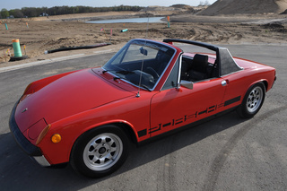 Porsche 914 /4 1.7 53kW-version, 1973 - Primary exterior photo