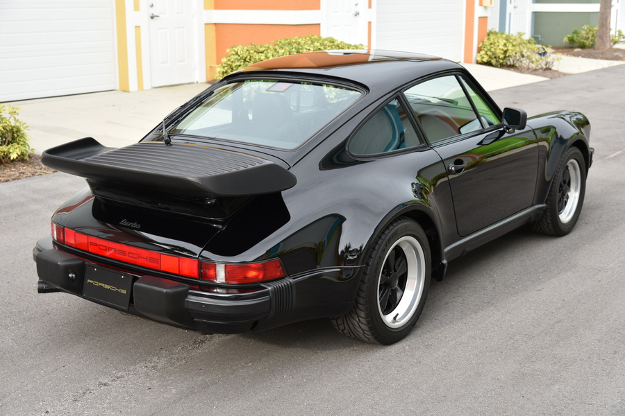 Porsche 911 G-model Turbo 3.3 Coupé 243kW-version, 1987 - #9