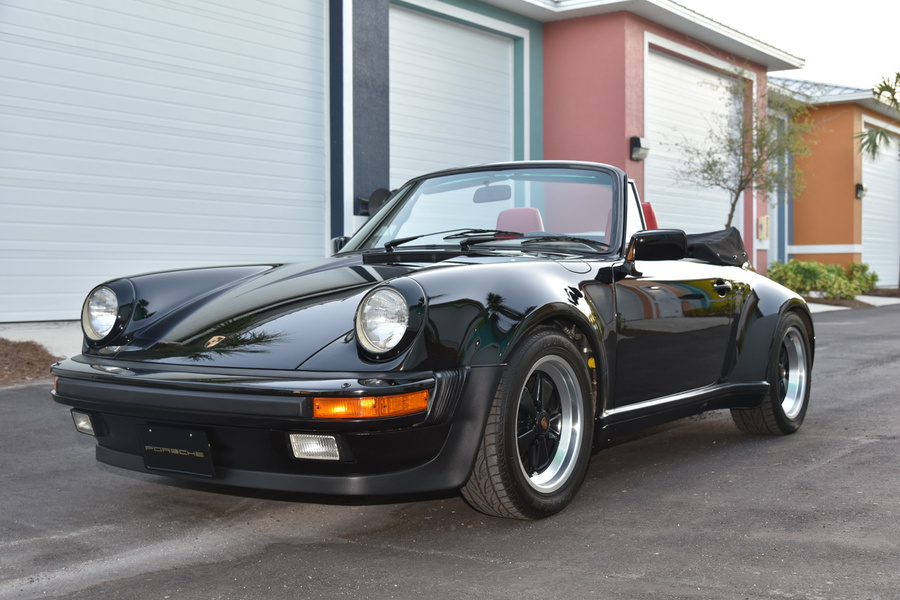 Porsche 911 G-model Carrera 3.2 Cabriolet Turbo-look 170kW-version, 1985 - #1