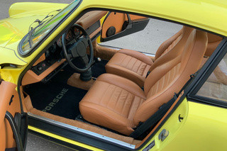 911 G-model 2.7 Coupé 121kW-version - Main interior photo