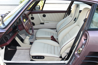 Porsche 911 G-model Turbo 3.3 Coupé Flachbau 243kW-version, 1988 - Primary interior photo