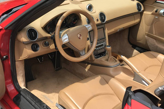Boxster 987.1 (2.7) 176kW-version - Main interior photo