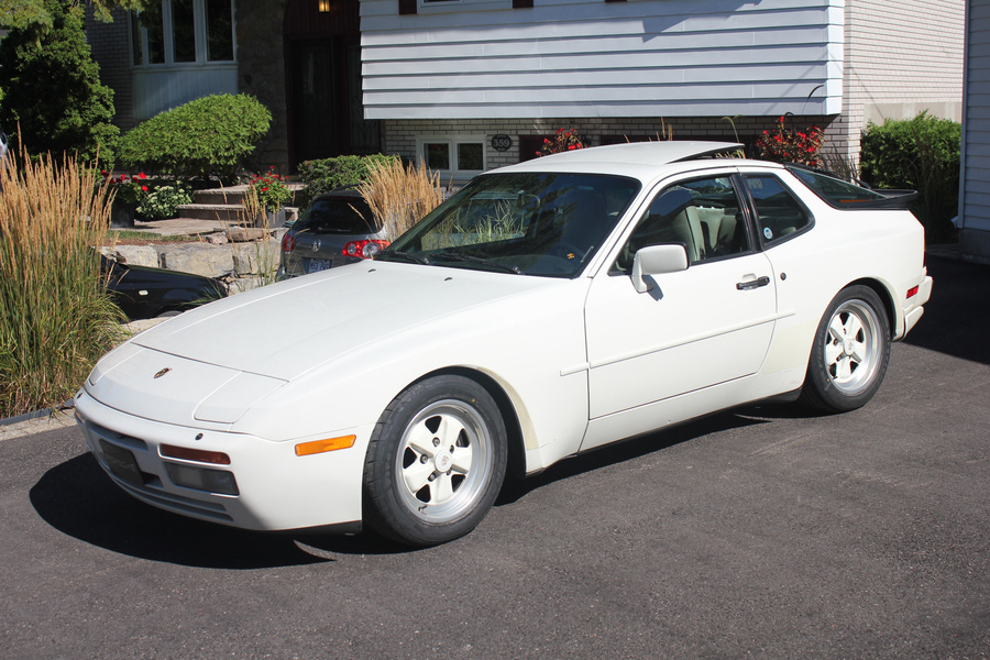 Porsche 944 Turbo Coupé 162kW-version, 1986 - #1
