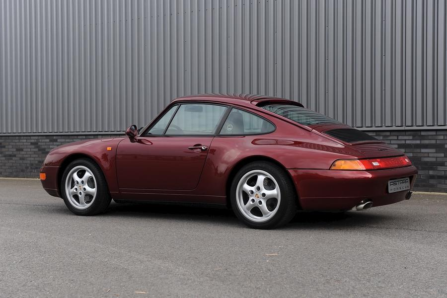Porsche 911 993 Carrera Coupé 3.6 210kW-version, 1997 - #3