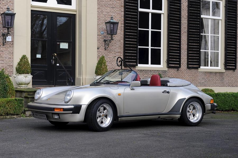 Porsche 911 G-model Speedster Turbo-look 160kW-version, 1989 - #4