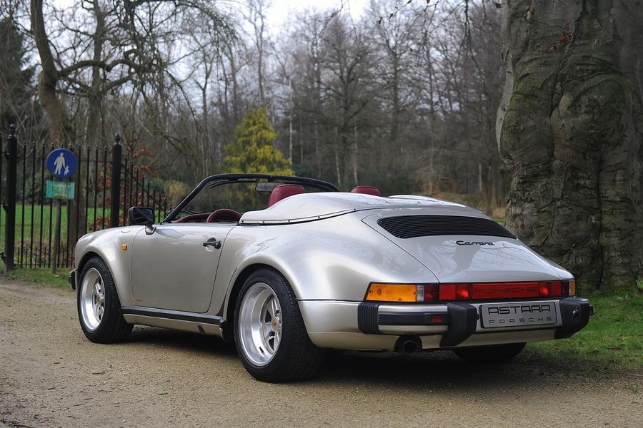Porsche 911 G-model Speedster Turbo-look 160kW-version, 1989 - #10
