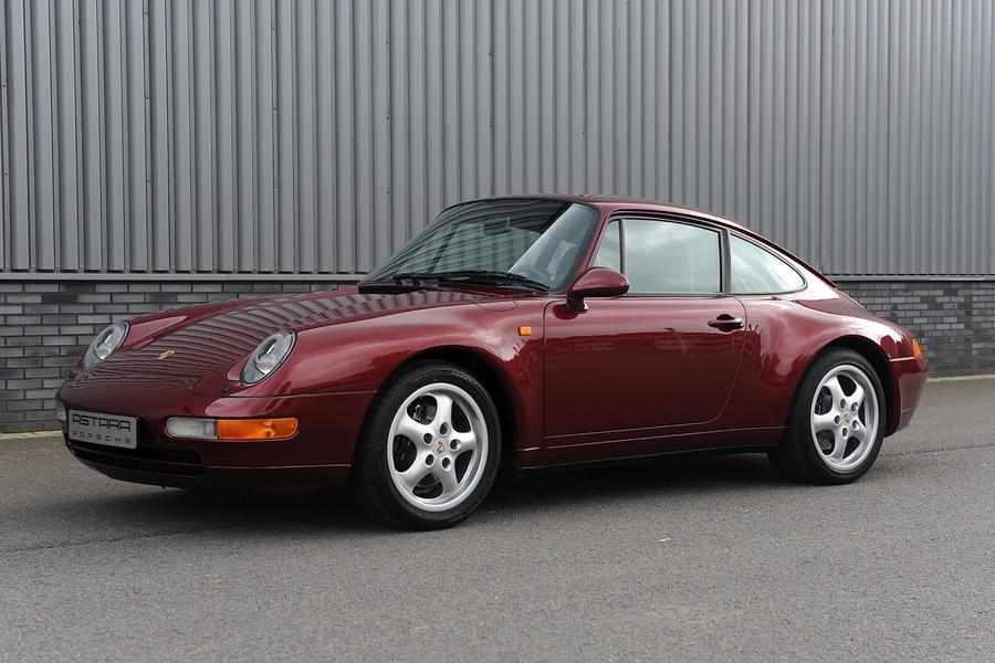 Porsche 911 993 Carrera Coupé 3.6 210kW-version, 1997 - #4