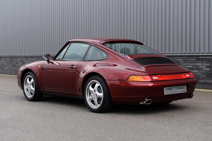 Porsche 911 993 Carrera Coupé 3.6 210kW-version, 1997 - #6