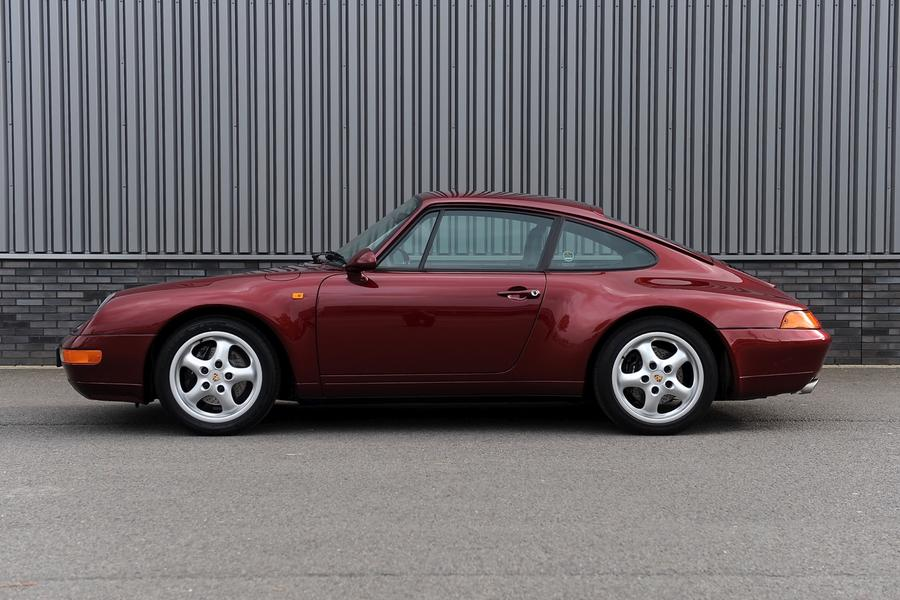 Porsche 911 993 Carrera Coupé 3.6 210kW-version, 1997 - #5
