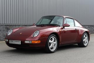 Porsche 911 993 Carrera Coupé 3.6 210kW-version, 1997 - Primary exterior photo