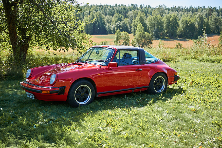 Porsche 911 G-model Carrera 3.0 Targa, 1977 - #17