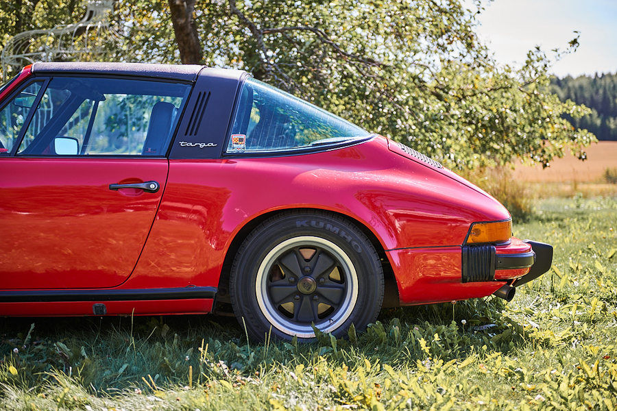 Porsche 911 G-model Carrera 3.0 Targa, 1977 - #8