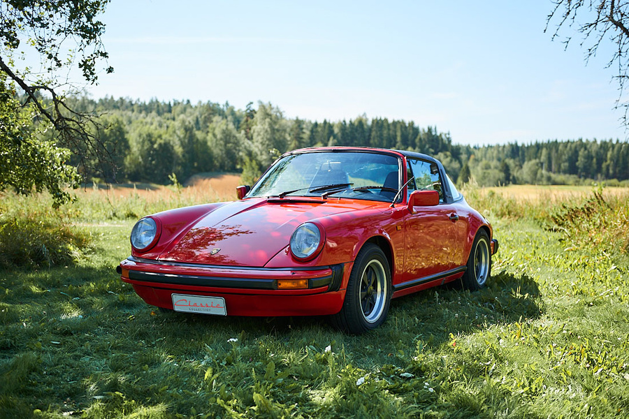 Porsche 911 G-model Carrera 3.0 Targa, 1977 - #1