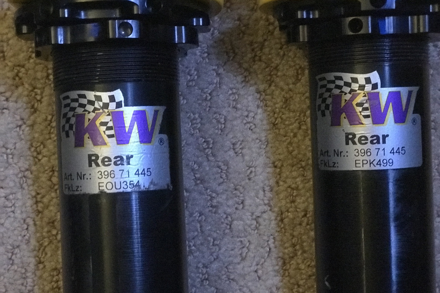 Full set of KW coilover shocks  - #2