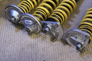 Full set of KW coilover shocks  - Primary photo