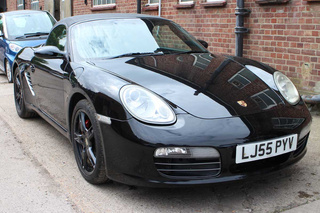 Porsche Boxster 987.1 S 3.2, 2006 - Primary exterior photo