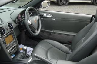 Porsche Boxster 987.1 S 3.2, 2005 - Primary interior photo