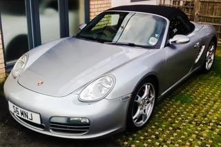 Porsche Boxster 987.1 S 3.2, 2005 - Primary exterior photo