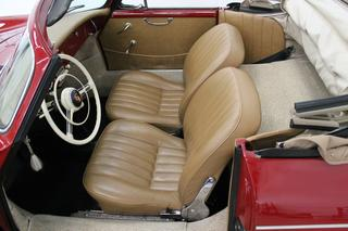 356 A 1600 Cabriolet - Main interior photo