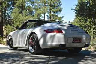 Porsche 911 997 Carrera S Cabriolet mk1, 2005 - Primary exterior photo