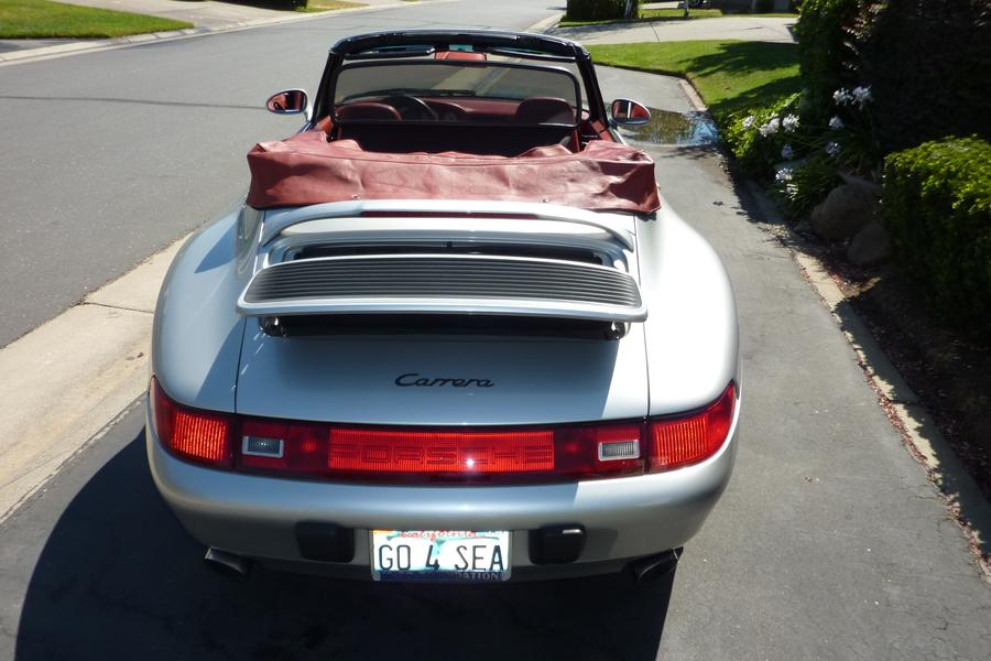 Porsche 911 993 Carrera Cabriolet 3.6 210kW-version, 1997 - #8