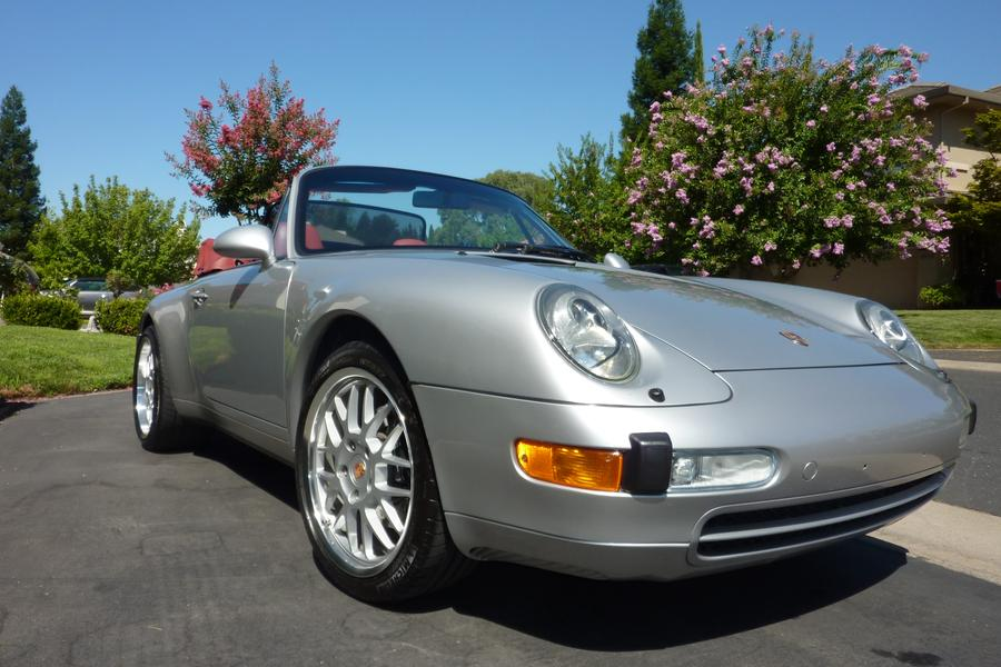 Porsche 911 993 Carrera Cabriolet 3.6 210kW-version, 1997 - #3