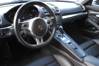 Porsche Boxster 981 (2.7), 2015 - Primary interior photo