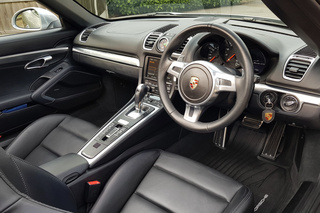 Porsche Boxster 981 GTS, 2015 - Primary interior photo