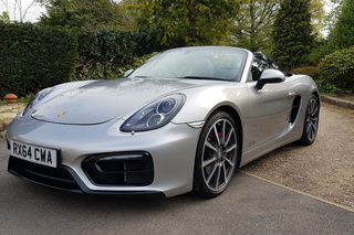 Porsche Boxster 981 GTS, 2015 - Primary exterior photo