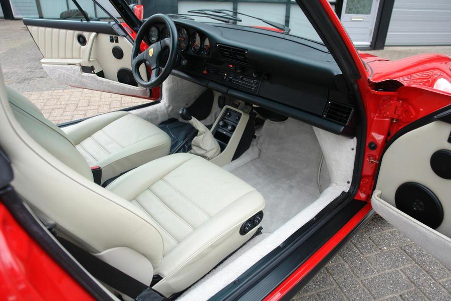 Porsche 911 G-model Turbo 3.3 Cabriolet 210kW-version, 1988 - #5