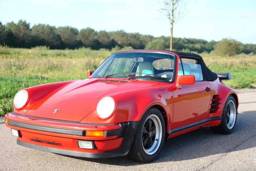 Porsche 911 G-model Turbo 3.3 Cabriolet 210kW-version, 1988 - #1