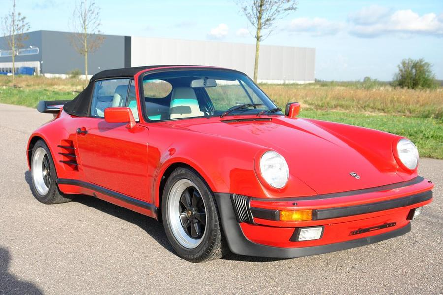 Porsche 911 G-model Turbo 3.3 Cabriolet 210kW-version, 1988 - #9
