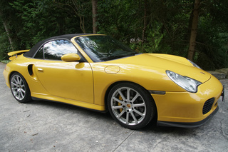 Porsche 911 996 Turbo Cabriolet, 2004 - Primary exterior photo