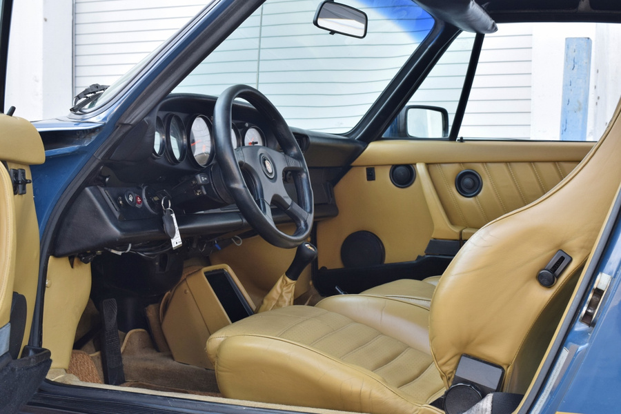 Porsche 911 G-model SC 3.0 Targa 132kW-version, 1982 - #9