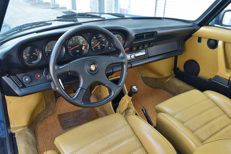 Porsche 911 G-model SC 3.0 Targa 132kW-version, 1982 - #13